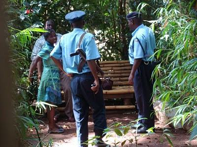 Caught in the act: Sex on the 'bench' at Muliro gardens - Kakamega Kenya