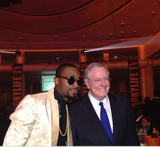 D'Banj with Steve Forbes in Lagos
