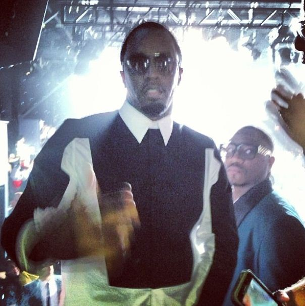 Ice Prince wears same Givenchy shirt as P Diddy