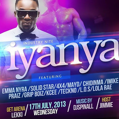 Industry Night with Iyanya