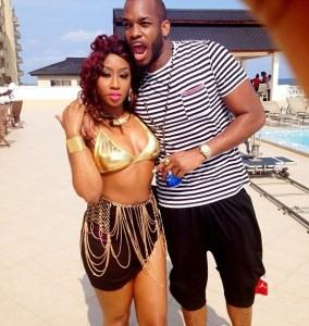 Behind the scenes pictures from Lynxxx's new video ft Banky W
