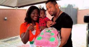 Mercy Johnson celebrate Purity