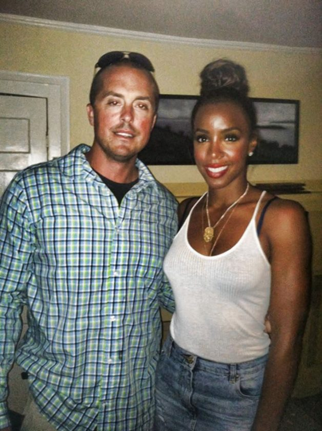 Noah Santos and Kelly Rowland