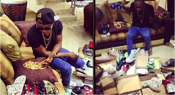 Sean Tizzle goes on shopping spree