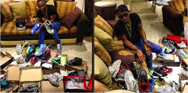 Sean Tizzle on shopping spree