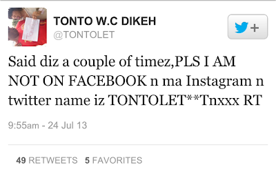 Tonto Dikeh denies blasting Nigerian Senators over the Child marriage law