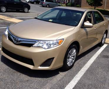 Tunde Ednut acquires 2012 Toyota Camry