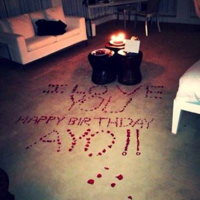 intimate birthday dinner Tania planned for Wizkid