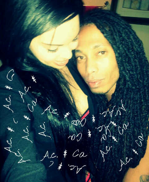 Candice Arends and Angelo