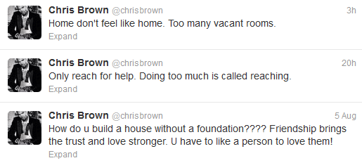 Chris Brown wants to quit