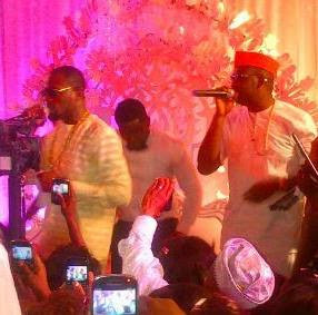 D'banj and Don Jazzy performing