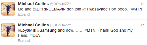 Don Jazzy and D'Prince