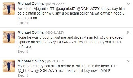 Don Jazzy used to sell Akara