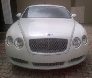 Ice Prince acquires N46million Bentley GT Coupe