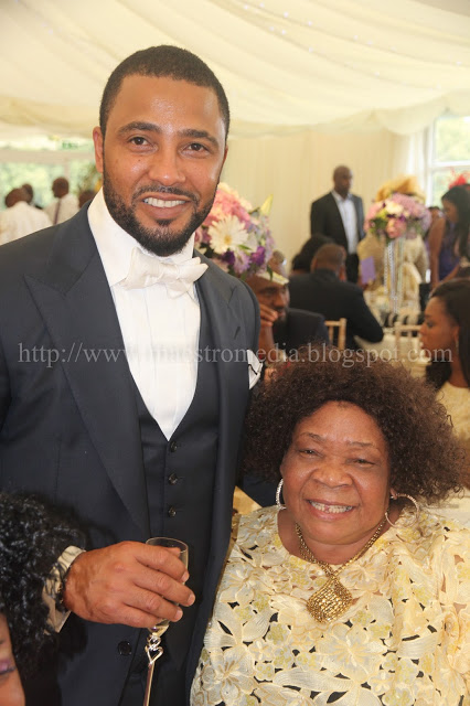 Kevin and Don Jazzy's mum