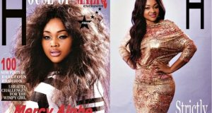 Mercy Aigbe sexy cover for House of Maliq magazine