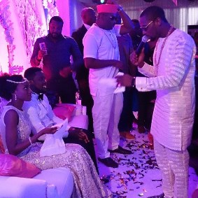 Taiwo Oyebanjo and Dotun Cool FM's white wedding
