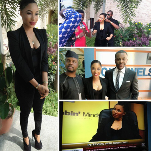 Tonto Dikeh's interview on Rubbin Minds