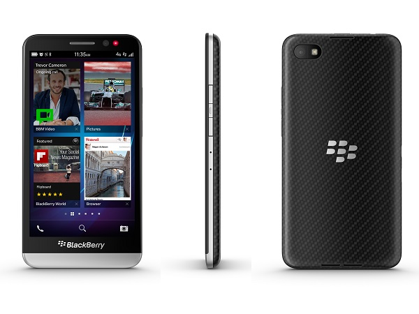 Blackberry unveils all-touch Z30