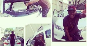 Dammy Krane's new car