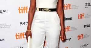 Genevieve at the TIFF premiere of Half of a Yellow Sun