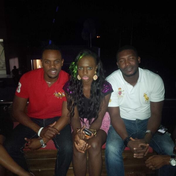 Melvin Oduah and Beverly Osu