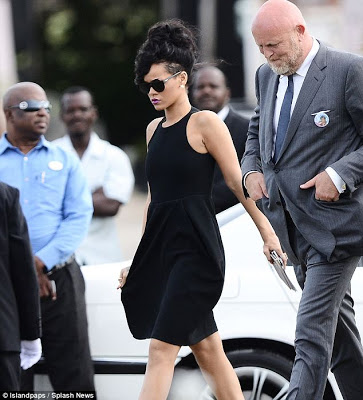 Norman Oosterbroek and Rihanna