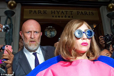 Norman Oosterbroek with Lady Gaga