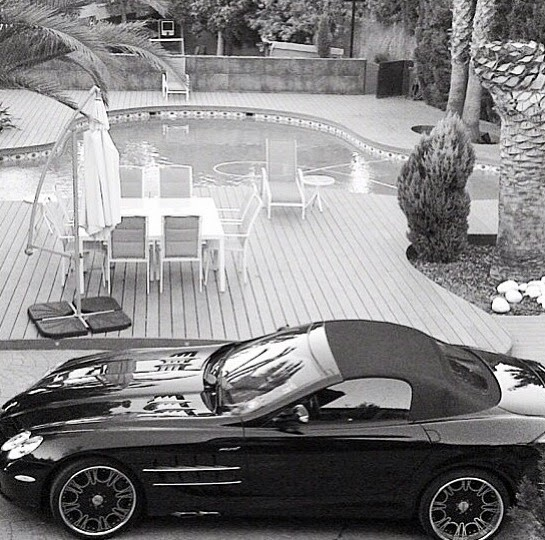 Obafemi Martin flaunts his 'state of the art' cars and houses