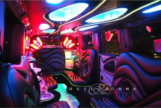 Psquare luxurious limo truck