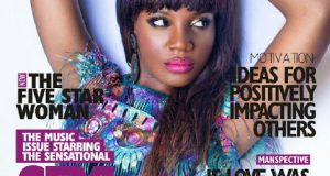Seyi Shay covers the latest issue of Exquisite magazine