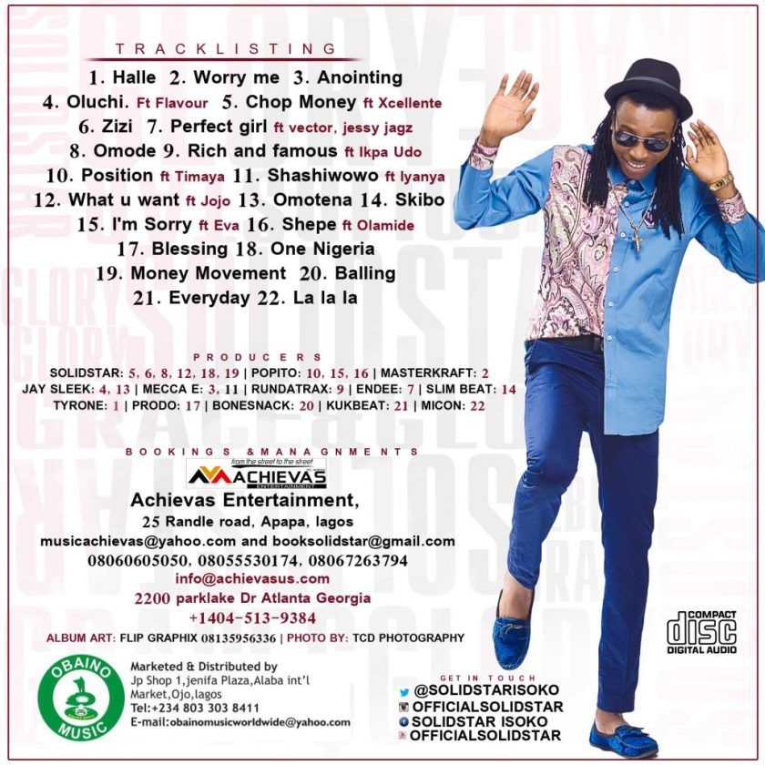 solidstar - grace & glory back cover