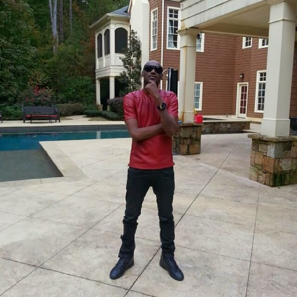 2face chilling in Tpain's ATL mansion