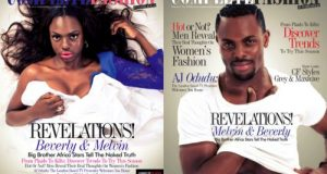 Beverly Osu & Melvin Oduah cover new issue of Complete magazine