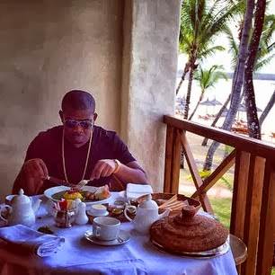 Don Jazzy in Mauritius
