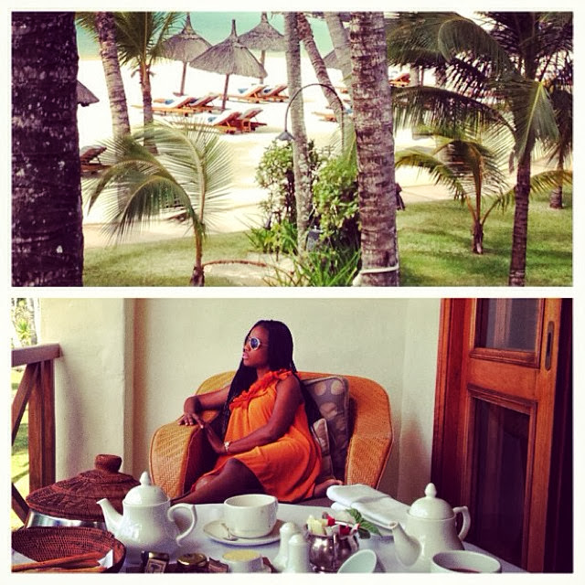 Don Jazzy's PA Sameerah Ahmed in Mauritius