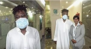 OJB discharged from hospital