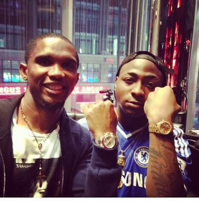 The Meeting - Samuel Eto'o and Davido [ViDeo]