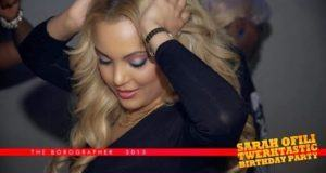 Sarah Ofili's Twerktastic birthday party