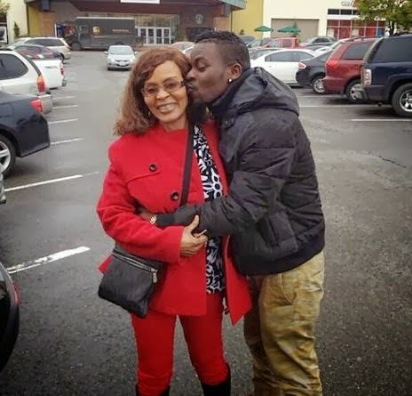 Shank reunites with mum after 10 years
