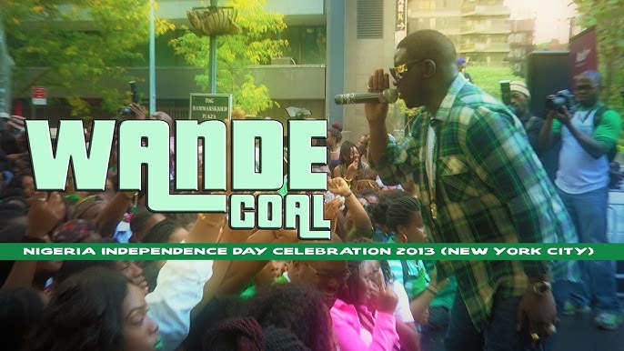 Wande Coal's performance at the Nigerian Independence Day parade New York