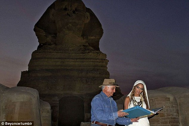Beyonce in Egypt