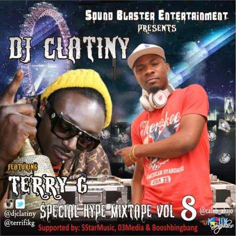 Dj Clatiny ft Terry G – Special Hype Mixtape vol.8