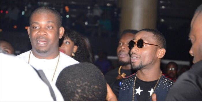 Don Jazzy and D'banj at Ice Prince's FOZ concert