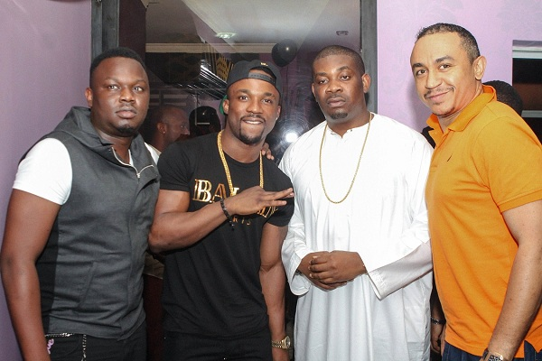 Dr SiD, Iyanya, Don Jazzy and Daddy Freeze