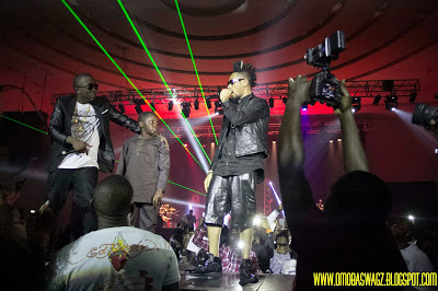 ICE PRINCE, KOREWA & PHYNO PERFORMING GIMME DAT