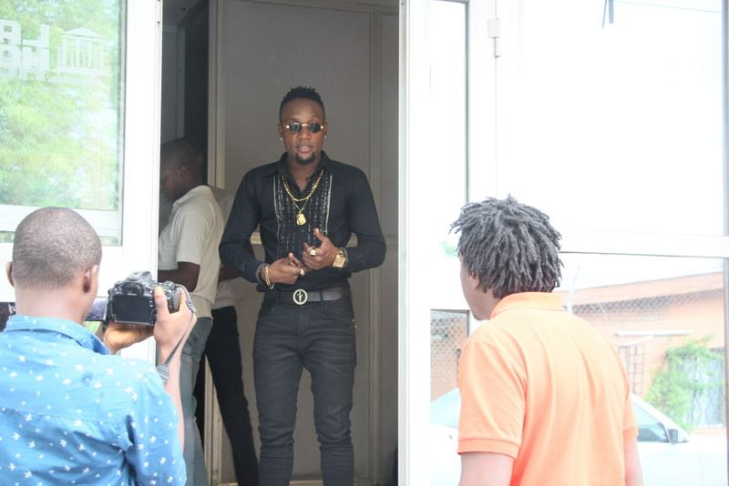 Photos from Flavour, KCee, Sound Sultan, Chidinma 'Sweet Like Shuga' video shoot