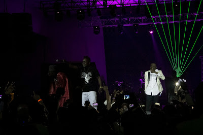 MI & ICE PRINCE PERFORMING AT FOZ