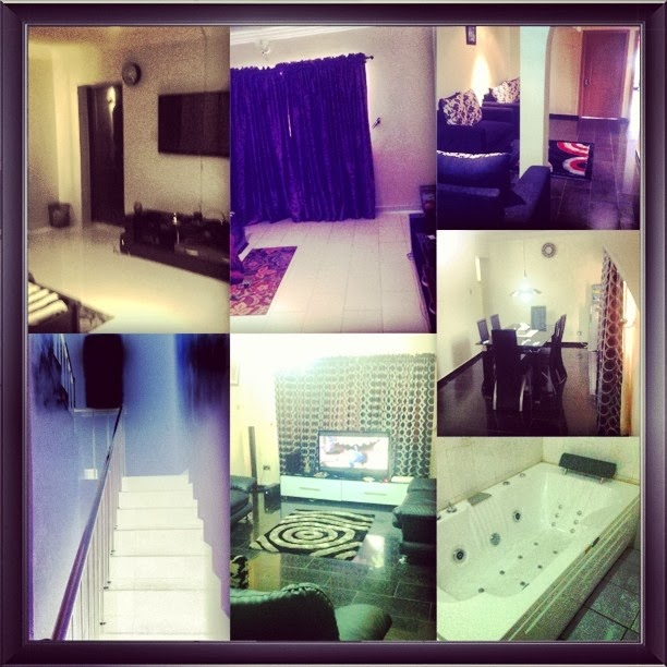 May D shows off inside his 150million naira duplex