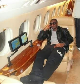 P-Square's private jet is fake